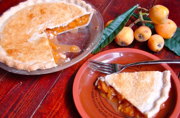 Foodista Recipes Cooking Tips And Food News Loquat Pie