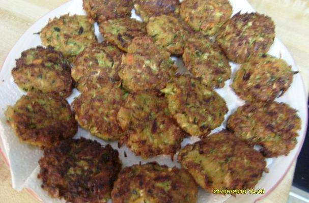 Image of Another Playful Way To Serve Zucchini- Zucchini Cakes, Foodista