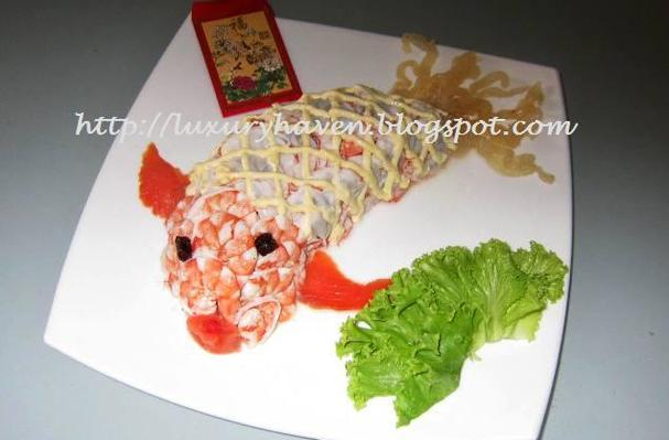 Foodista recipes cooking tips and food news reunion dinner reunion dinner bountiful goldfish salad forumfinder Gallery