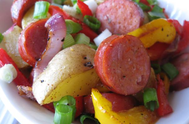 Image of Andouille Sausage And Potato Hash, Foodista