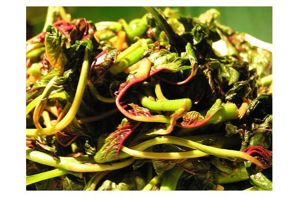 Image of Amaranth Stir Fry, Foodista