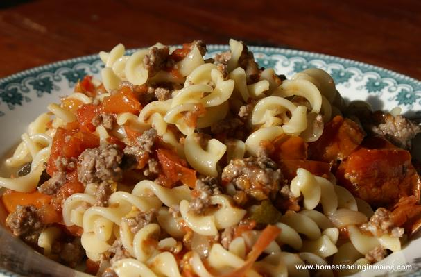 Image of American Chop Suey, Foodista