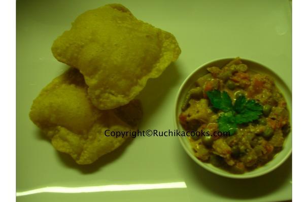 Image of Avocado Poori (avocado In Fluffed Indian Bread), Foodista