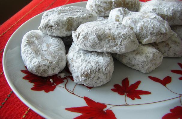 Image of Almond Snowball Cookies, Foodista