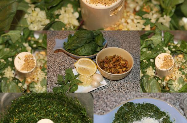 Image of Aisha Foodista's Easy And Delicious Pesto Recipe, Foodista