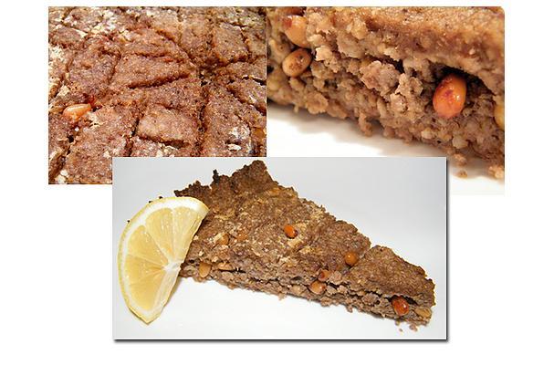 Image of Afaf's Baked Kibbeh, Foodista