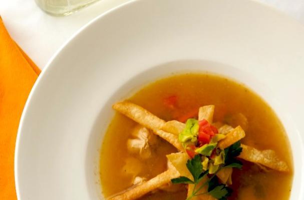 """Image of A Post Thanksgiving """"sopa De Tortilla"""", Foodista"""