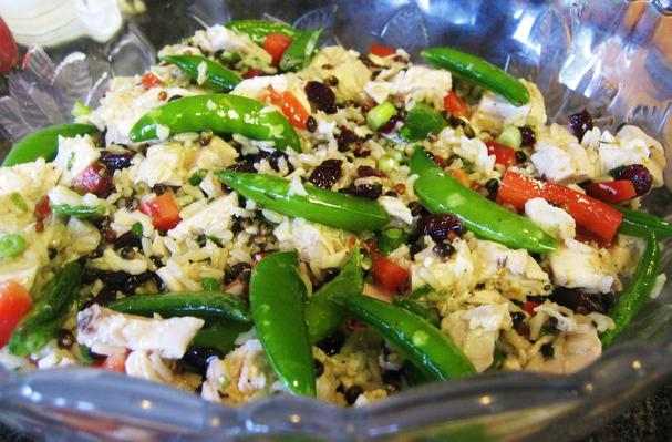 Foodista Recipes Cooking Tips And Food News Cranberry Rice Chicken Salad