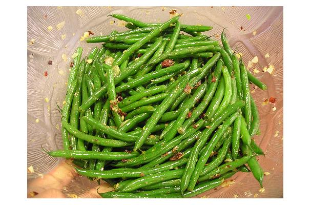 Image of Almond Green Bean Salad, Foodista