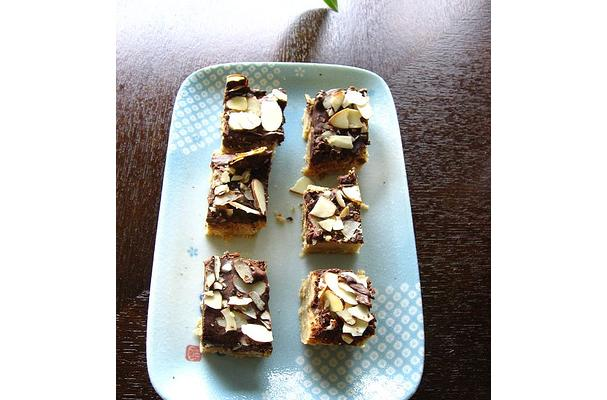 Image of Almond Toffee Bars, Foodista