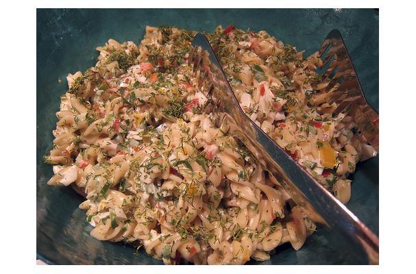Image of Asparagus Pasta Salad, Foodista
