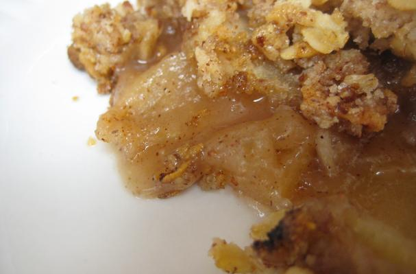 Image of Apple And Almond Crisp, Foodista