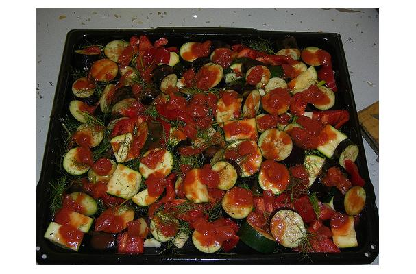 Image of Aubergine, Tomato And Fennel, Foodista