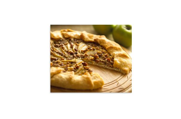Image of Alouette Cheese And Apple Galette Recipe, Foodista