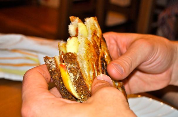 Image of Apple Bacon Brie Panini, Foodista
